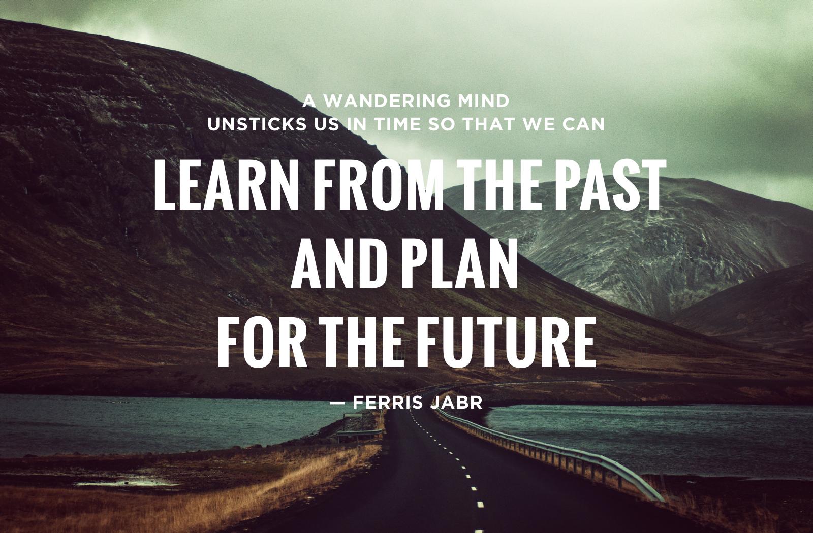 Ferris Jabr - Wandering Mind
