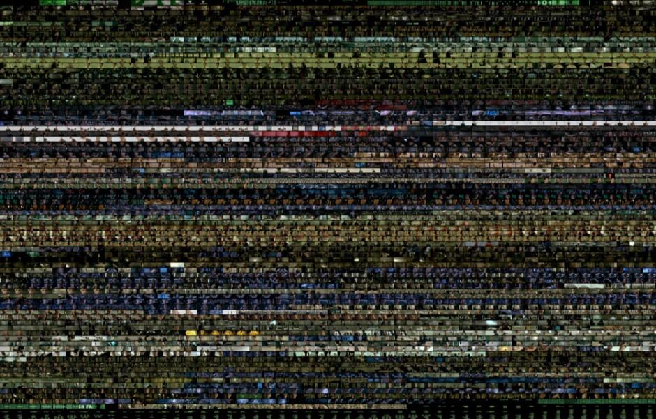 The Matrix color palette