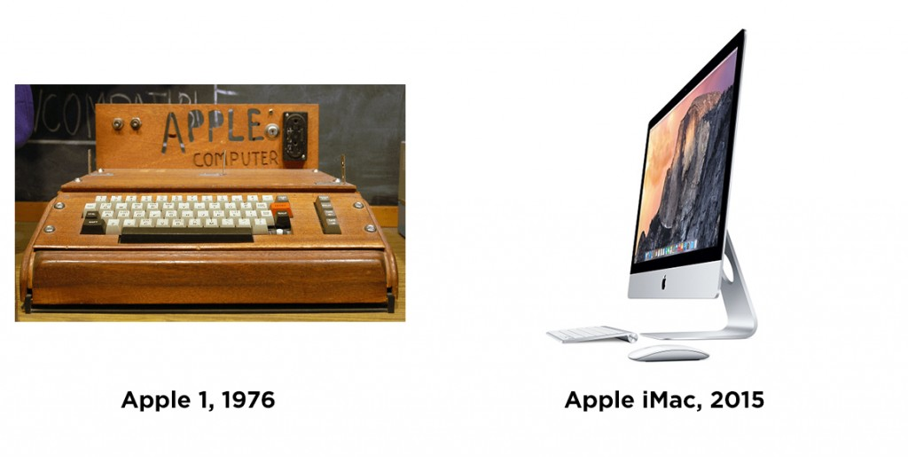 apple then and now
