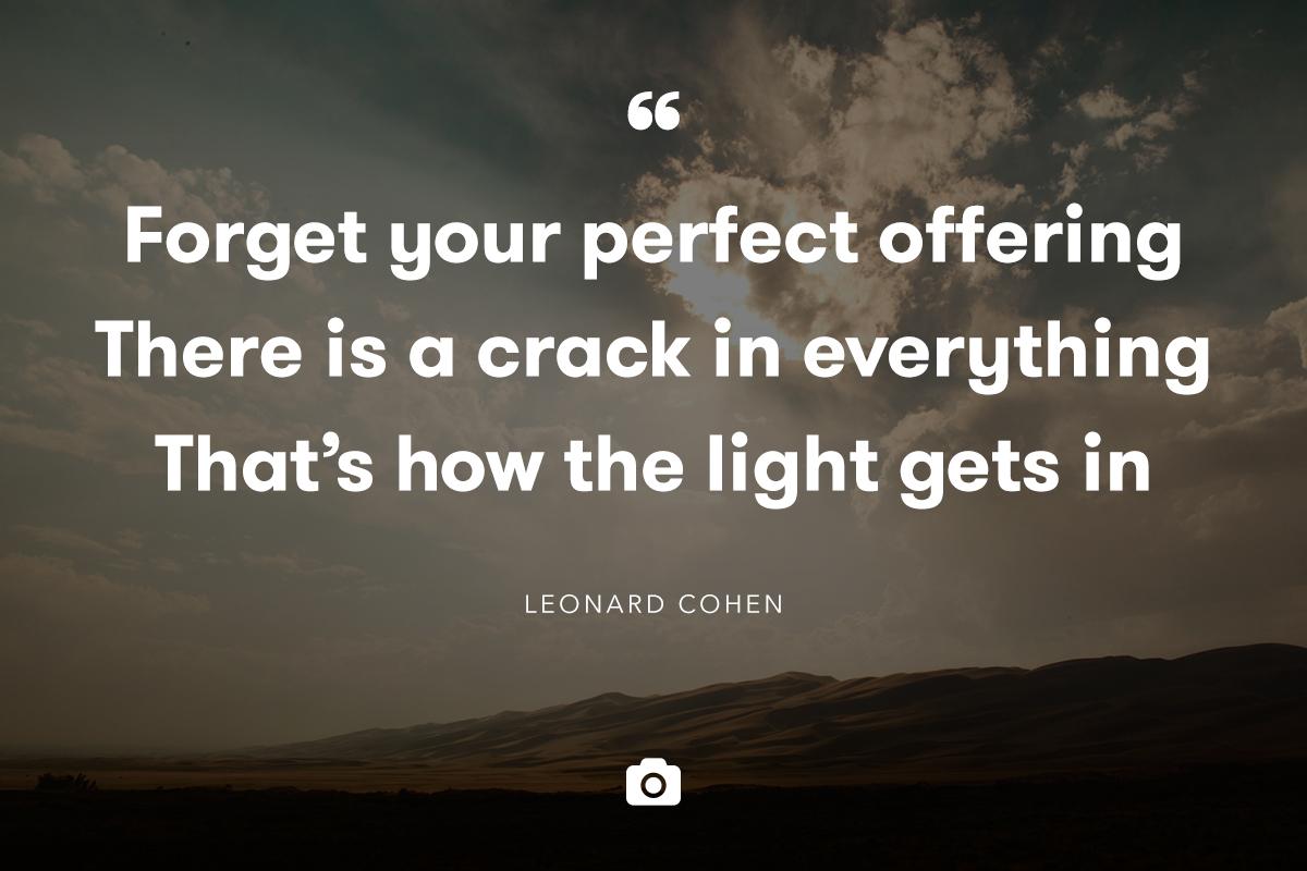 How to write like leonard cohen