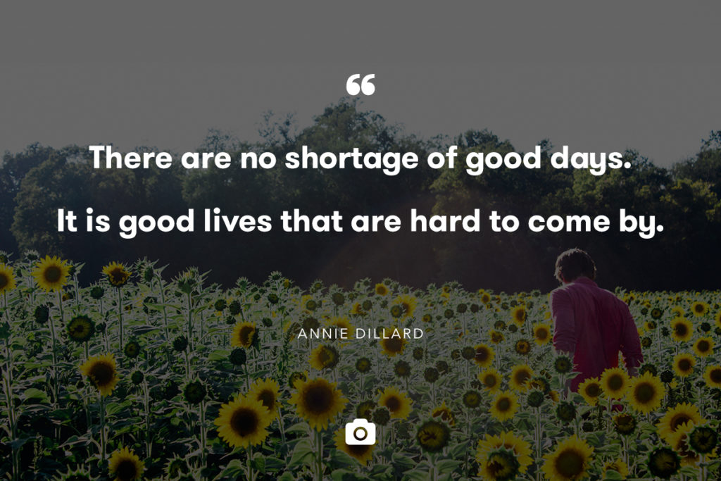 good days quote